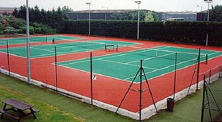 Bergo Tennis - der Tennis-System-Boden