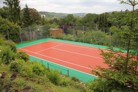 Tennis Boden System als Allwetterplatz